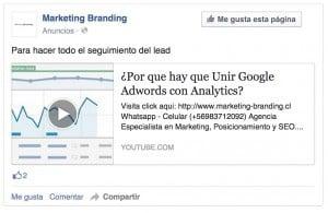 anuncios facebook, facebook ads