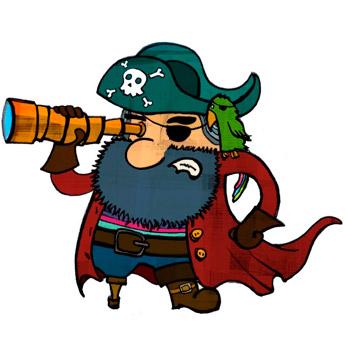 google pirata, google pirate